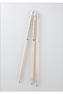 EV100 pruuni korpusega harilikud pliiatsid, 3tk