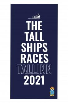 THE TALL SHIPS RACES 2021 sinine mikrofiibrist rätik