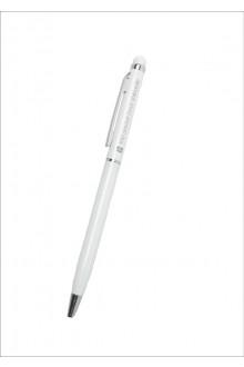 Valge korpusega puutetundlik pastapliiats
