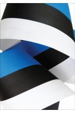 Lipuvärvides pael sinine, must ja valge 90mm
