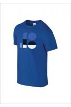 EV100 logoga sinine laste t-särk