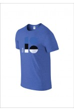 EV100 logoga sinine t-särk meestele
