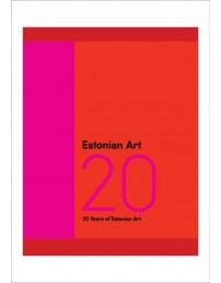 Estonian Art 20 raamat
