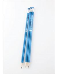 EV100 harilikud pliiatsid, sinise korpusega, 3tk