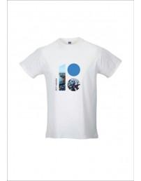 Meeste T-särk mereteemalise logoga