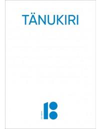 A4 formaadis tänukirja blanketid, 10 tk, valged, sinise logoga