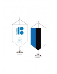 Lauavimpel lipumotiivi ja logoga