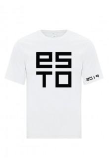 Cotton T-shirt ESTO, white