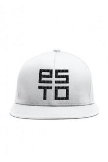 White baseball cap ESTO
