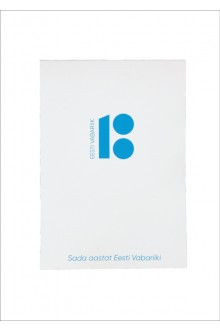 Notepad made from recycled paper, with an Estonia100 logo