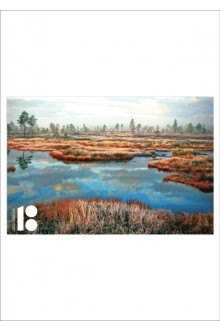 Estonia100 postcard, with a picture of swamp