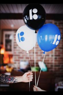 Estonia100 balloons, 10 pcs