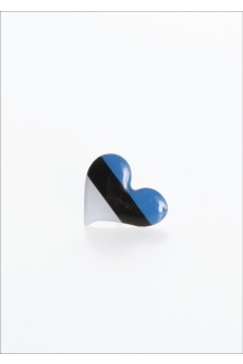 "Button badge ""Heart"", 10 pcs"