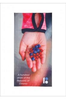 "Tube scarf ""Berries"", 10 pcs"