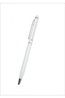 Pen with a pressure-sensitive tip and white body