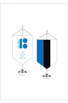 Table pennant with the national flag of Estonia