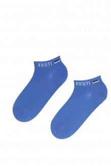 VIRU blue cotton socks for men and women