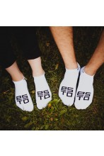 White low-cut socks ESTO