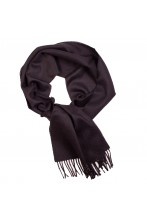 Great Natural Alpaca Black Royal alpaca wool scarf