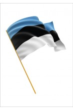 Estonian flag, suitable for 6 meter flagpole