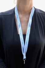 Grey neckstrap ESTONIA, 50 pcs