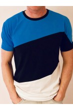 Men's T-shirt in the colours of the Estonian flag