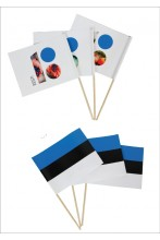 Hand-held flags, 10 pcs