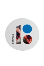 Estonia100 stickers with berries, 5 pcs