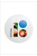 Estonia100 stickers with apple, 5 pcs