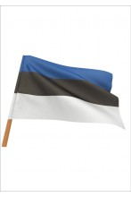 Estonian flag for displaying on buildings