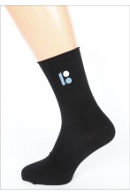 Men's socks with embroidered Estonia 100 logo, in a gift box