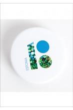 Steel button badge, white