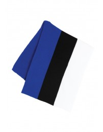 Scarf in the colours of the Estonian flag