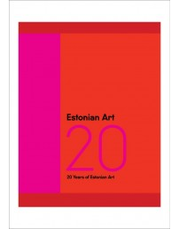 Estonian Art 20 book