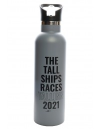 THE TALL SHIPS RACES 2021 grey water bottle