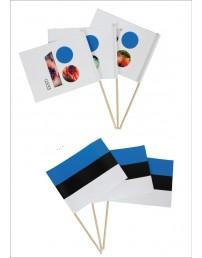 Hand-held flags, 10 pcs