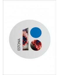 Estonia100 stickers with berries, 5 pcs