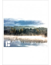 Estonia100 postcard, with a picture of forest