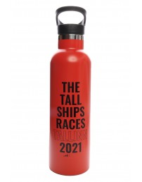 THE TALL SHIPS RACES 2021 red water bottle