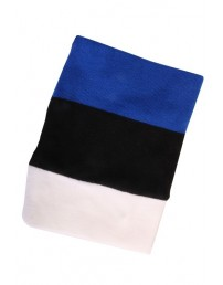 Tube scarf in the colours of the Estonian flag