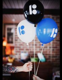 Estonia100 balloons, 100 pcs