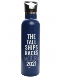 THE TALL SHIPS RACES 2021 blue water bottle