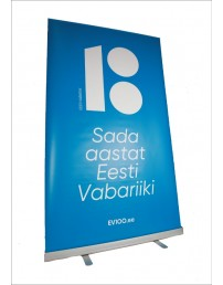 Roll-up, blue colour, 80 x 200 cm