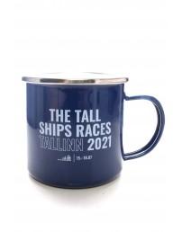 THE TALL SHIPS RACES 2021 blue mug