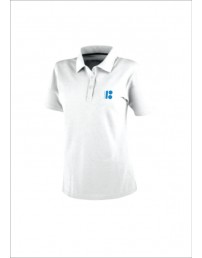 Estonia100 white polo shirt for men
