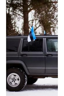 26e3c146a3c Estonian flag for car, with a holder