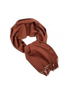 Шарф коричневого цвета из шерсти альпака Great Natural Alpaca