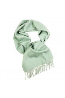 Шарф пастельно-зеленого цвета из шерсти альпака Great Natural Alpaca