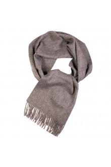 Шарф серого цвета из шерсти альпака Great Natural Alpaca
