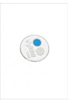 Нагрудный значок с магнитным креплением и изображением символа Эстонии – ласточкой